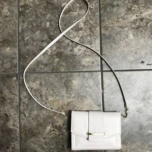 Handbags - White Crossbody Purse